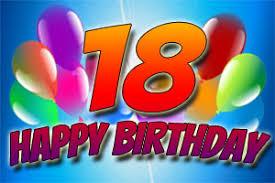 18 Geburtstag Bilder Mit Sprüchen