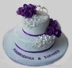 Engagement Cake 2 Tier Cake With Rings Sri Lanka Online Shopping