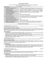 Sample Resume For Business Development Director New Resume Samples ...