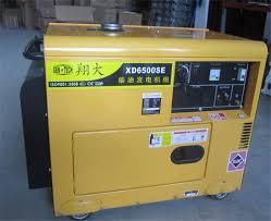 Single Phase Residential Diesel Generators 44KW Home Diesel Generator