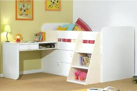 bed with a desk loft beds with desks to save kids room space laptop desk for