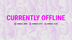 Onesie Template Placeit Offline Twitch Banner Template With Dynamic Graphics