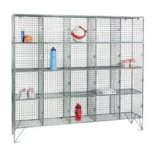 Wire Mesh For Cabinets Zinc Wire Mesh Twenty Compartment Lockers Lockers Cabinets
