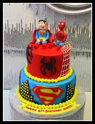 Spiderman Cakes In Dubai
