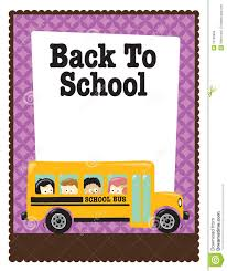 x school flyer w bus and kids royalty stock photo 8 5x11 school flyer w bus and kids