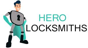 hero locksmiths logo