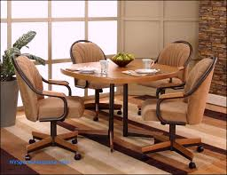 casters the benefit cabinet stunning dinette sets with rolling chairs 9 awesome cal sunset oak finished
