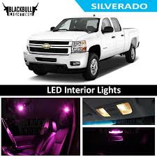 2007 Silverado Interior Lights Details About Pink Led Interior Lights Replacement Kit For 2007 2013 Chevy Silverado 12 Bulb