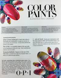 OPI Blendable Nail Lacquer 3 Color Set - Color Paints