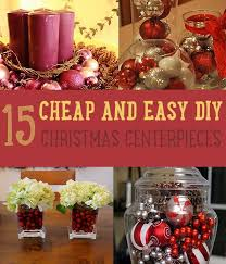 15 Cheap and Easy DIY Christmas Centerpieces - Christmas Centerpiece Ideas  by DIY Ready at http