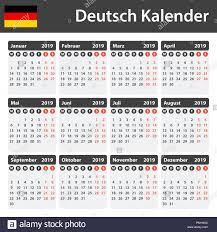 Calendar Scheduler Template German Calendar For 2019 Scheduler Agenda Or Diary