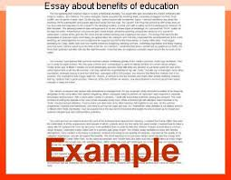 benefits of education essay essay about benefits of education homework service