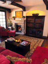 Red Living Room Decorating Rooms Viewer Hgtv