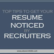 Synonym Suggestions For Your Resume Cover Letter Job Search Bible