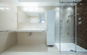 ... each type of door that works well with your current layout or a layout  you plan to install with an entire overhaul of a current bathroom in your  home.