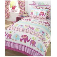image of single duvet cover pink