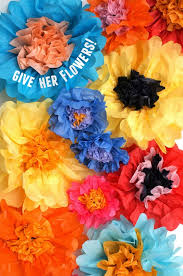 how to make beautiful 2 color tissue paper flowers super easy and beautiful results