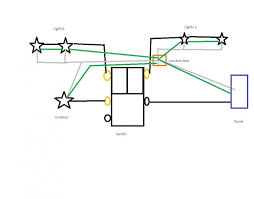 triple single pole light switch wiring electrical diy room rh diyroom com double switch wiring diagram light switch wiring diagram