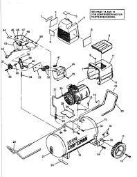 Craftsman 919 153230 153330 parts mtr in air pressor diagram craftsman air pressor parts diagram