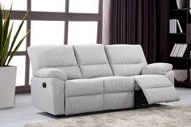 fabric recliner sofa. Furniture Link Florida Fabric 3 Seater Recliner Sofa T