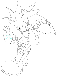 Small Picture Shadow The Hedgehog Coloring Pages GetColoringPages Silver
