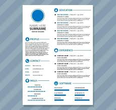 Colourful Resume Templates