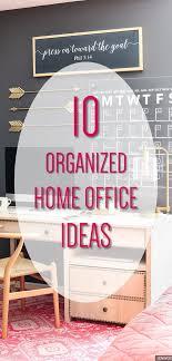 organize home office deco. Home Office Decor - 10 Organized Ideas Dream Looks You Will Organize Deco