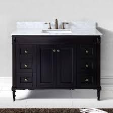 virtu usa tiffany 48 es 40048 wmsq es nm single sink bathroom vanity in espresso