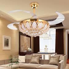 modern ceiling fan. image of: contemporary luxury crystal ceiling fan ideas modern