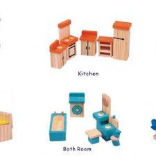 Dollhouse Furniture Kid Toy Bathroom Kid Room Bedroom Kitchen Set