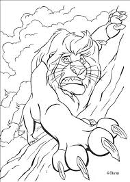 Small Picture Mufasa in trouble coloring pages Hellokidscom