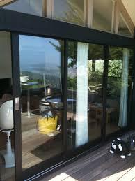 bronze aluminum sliding glass doors designs