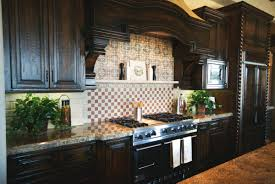Simple Dark Kitchen Cabinets Colors Pictures Quicuacom To Decor