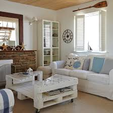 Coastal Living Room With Shutters   Coastal Living Room Design Ideas    Decorating   Housetohome.