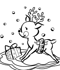Sure Fire Reindeer Coloring Pages Page Sheets Colouring Ribsvigyapan