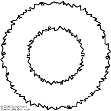 Christmas Wreath Coloring Page Get Coloring Pages