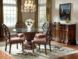Ashley Furniture Kitchen Table Sets Round Glass Dining Table Set Best 17 Best Ideas About Glass