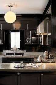 black lacquer cabinets
