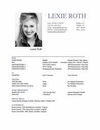 Resume For Opera Singer