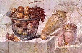 glass bowl fruit pompeii