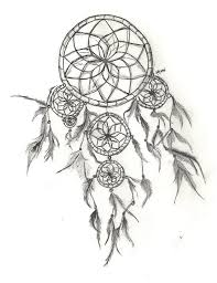 Dream Catchers Sketches Drawing Of Dream Catcher Again Dream Catcher Drawing Photos 46
