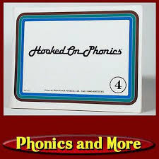 Hooked On Phonics Replacement Part 1988 1992 Blue Green