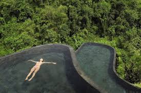 take the plunge into jungle paradise
