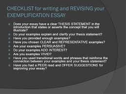 goals ap multiple choice practice exemplification writing does your essay have a clear thesis statement in the introduction that states or asserts
