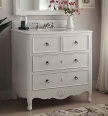 bathroom vanities cottage style. 34 Inch Bathroom Vanity Cottage Beach Style Vintage White Color (34\ Vanities E