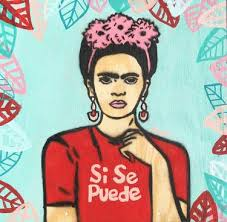 street art painting frida kahlo
