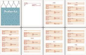 Microsoft Office Address Book Template Free 30 Microsoft Word Book Template Simple Template Design