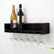 architecture wall mounted wine glass shelves incredible shelf wayfair throughout 0 from wall mounted wine