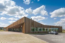 Wooden office buildings Large Scale Contemporary Office Building That Make Impressive Contemporary Wooden Office Architecture By Jaak Nilson Anywardcom Contemporary Wooden Office Architecture By Jaak Nilson Part Of