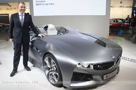 new car launches bmwThe launch of BMW Vision Connected Drive at Auto Expo 2012 in New